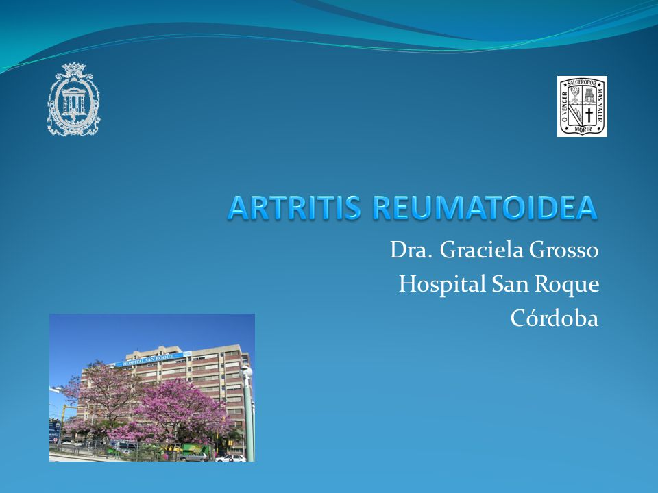Dra. Graciela Grosso Hospital San Roque Córdoba