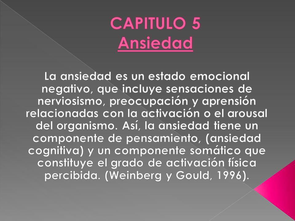CAPITULO 5 Ansiedad