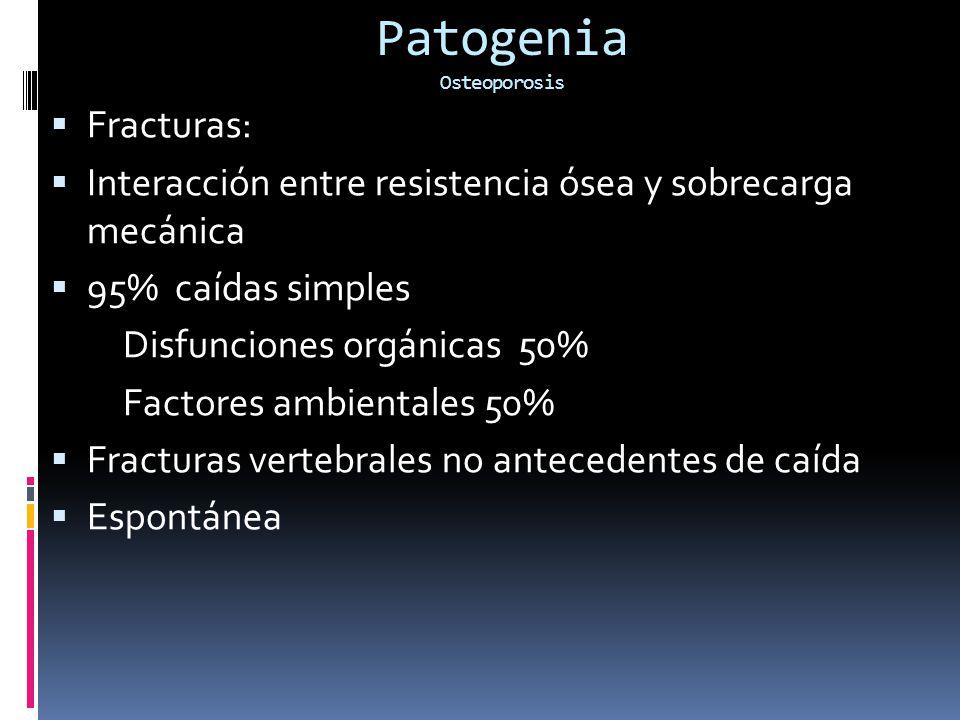 Patogenia Osteoporosis