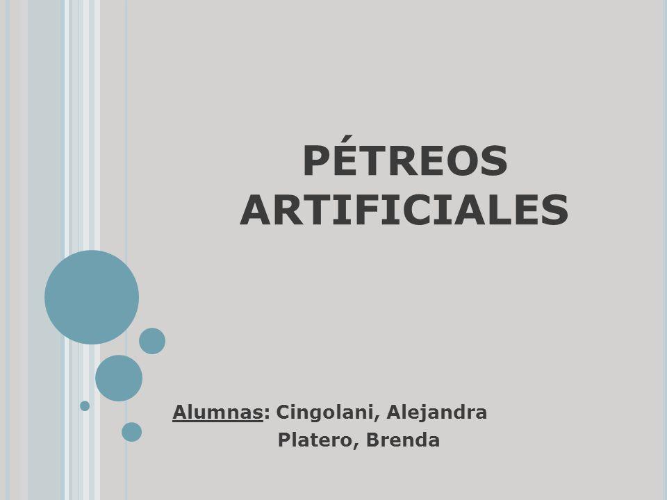 Alumnas: Cingolani, Alejandra Platero, Brenda
