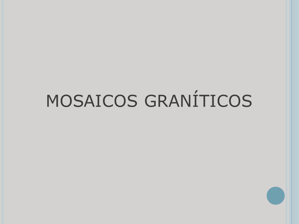 MOSAICOS GRANÍTICOS