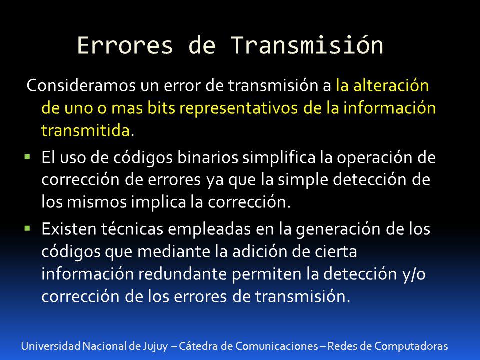 Errores de Transmisión