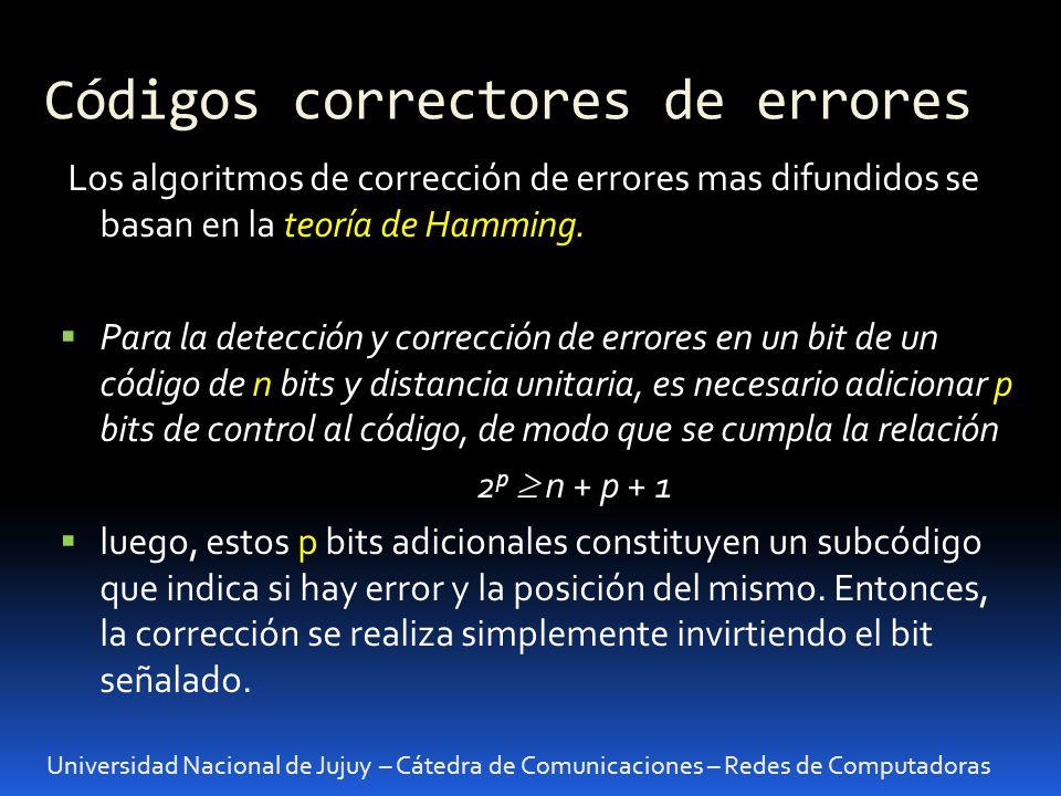 Códigos correctores de errores