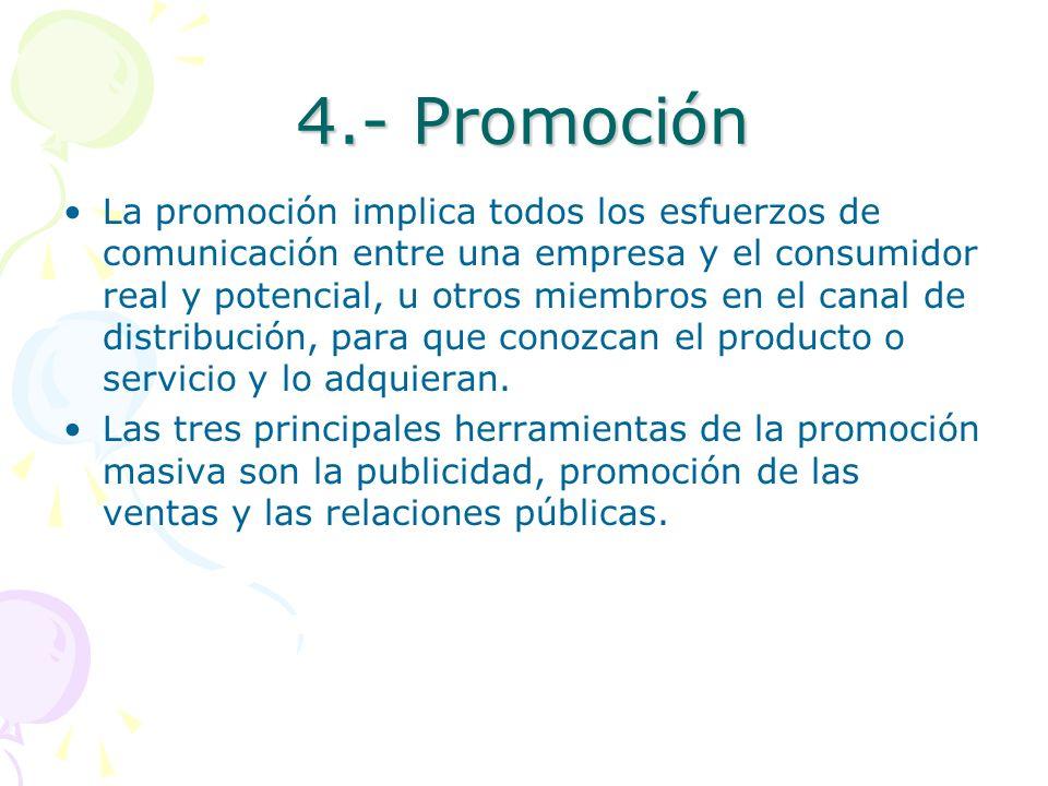 4.- Promoción
