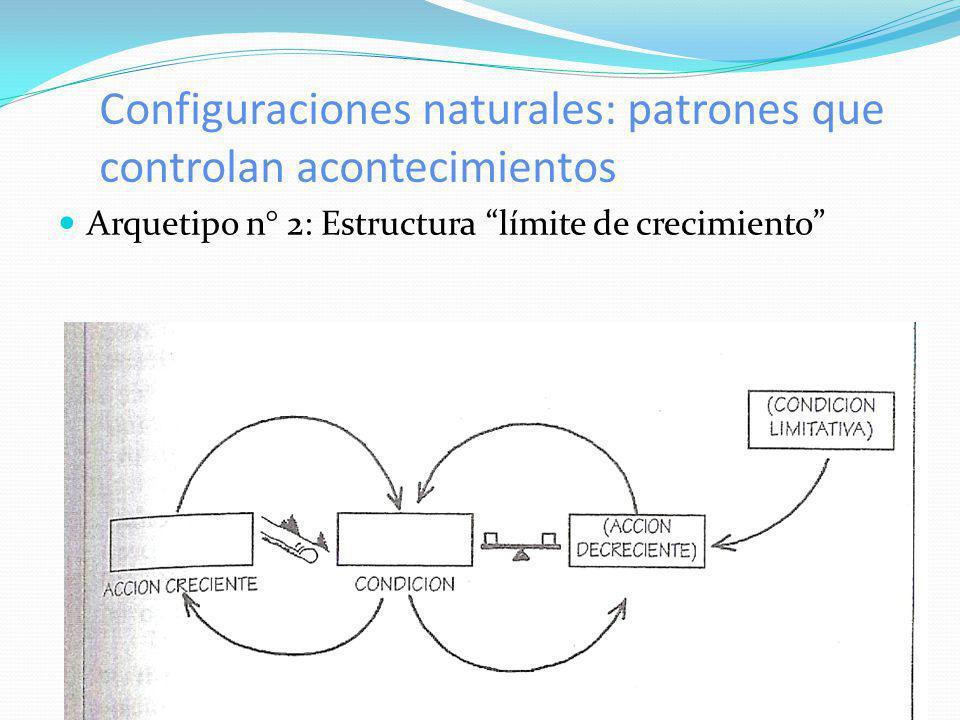 Configuraciones naturales: patrones que controlan acontecimientos