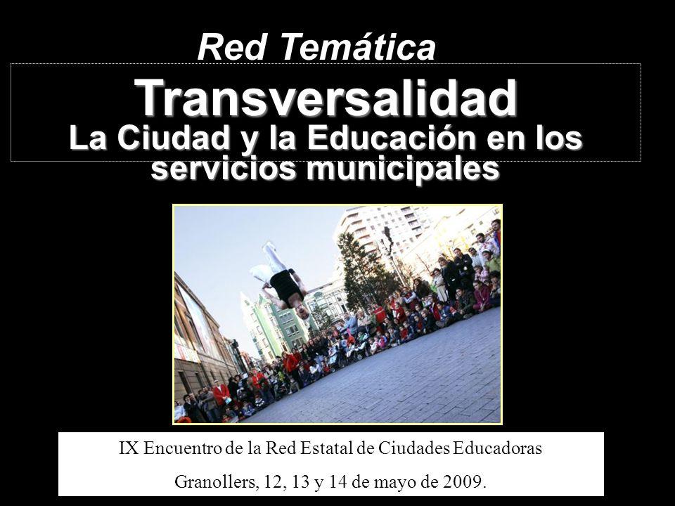La Ciudad y la Educación en los servicios municipales