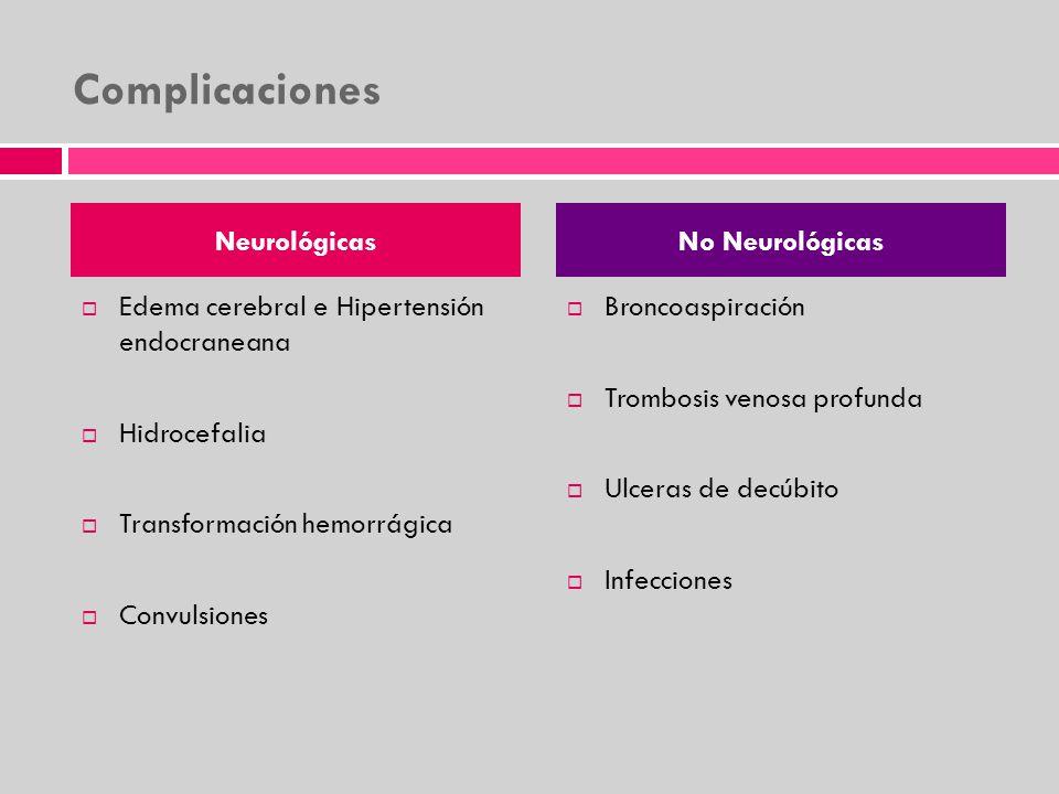 Complicaciones Neurológicas No Neurológicas