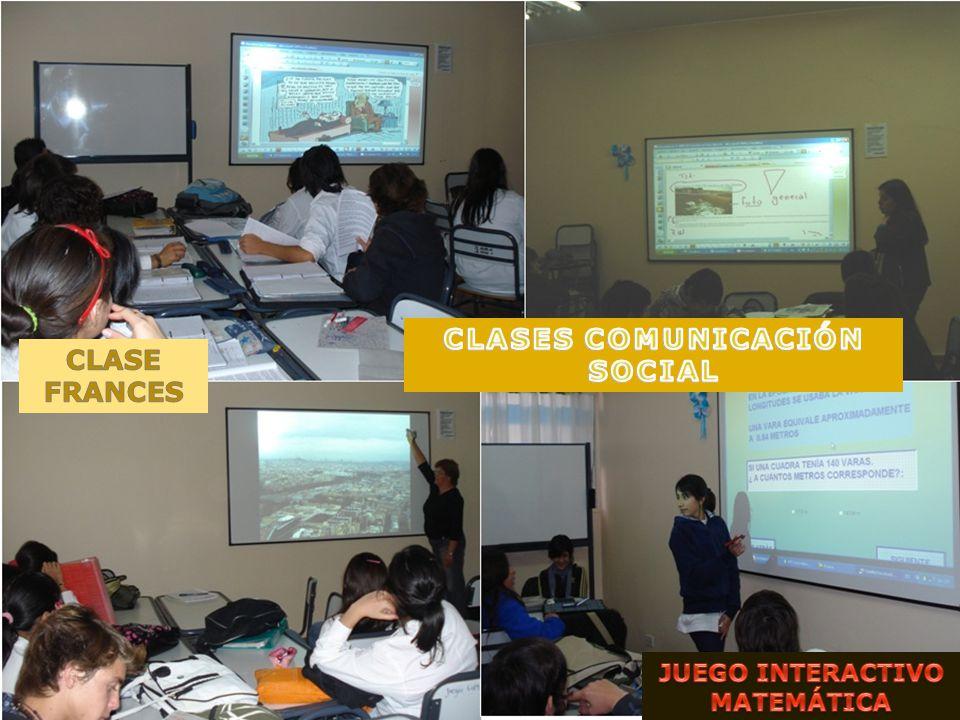 CLASES COMUNICACIÓN SOCIAL