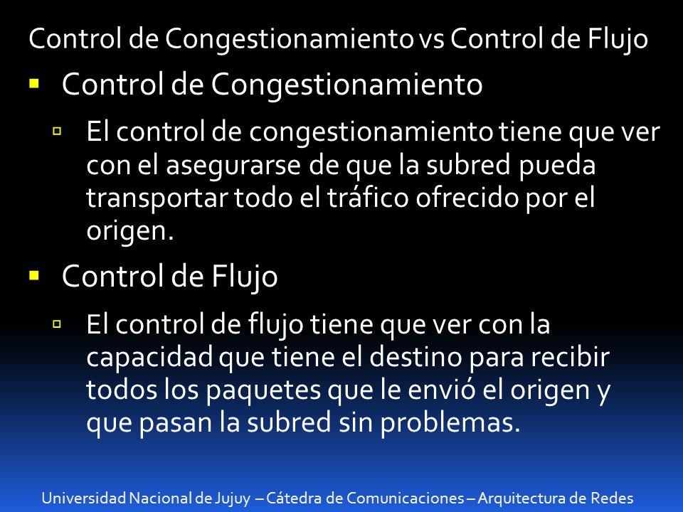 Control de Congestionamiento