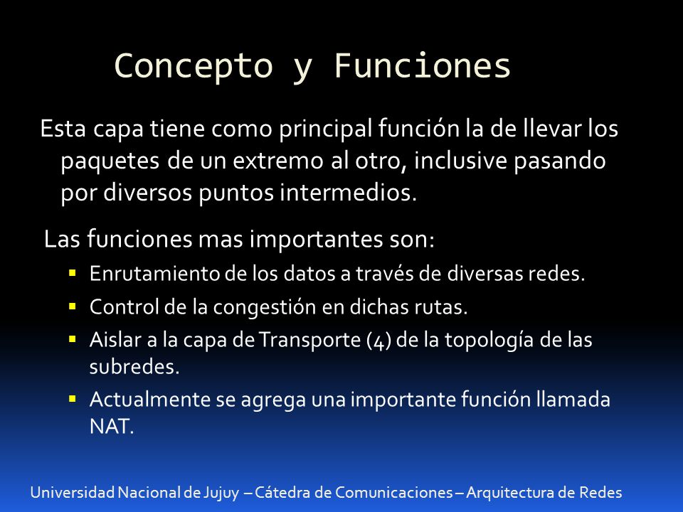 Concepto y Funciones