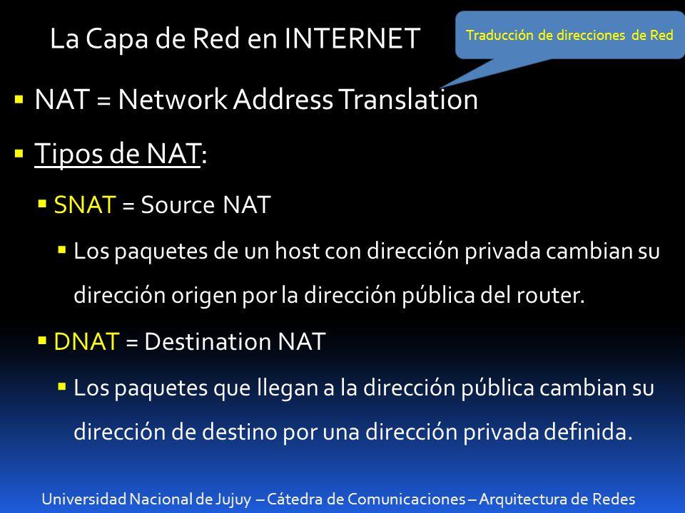 Traducción de direcciones de Red