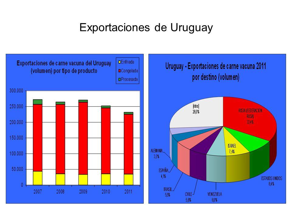 Exportaciones de Uruguay