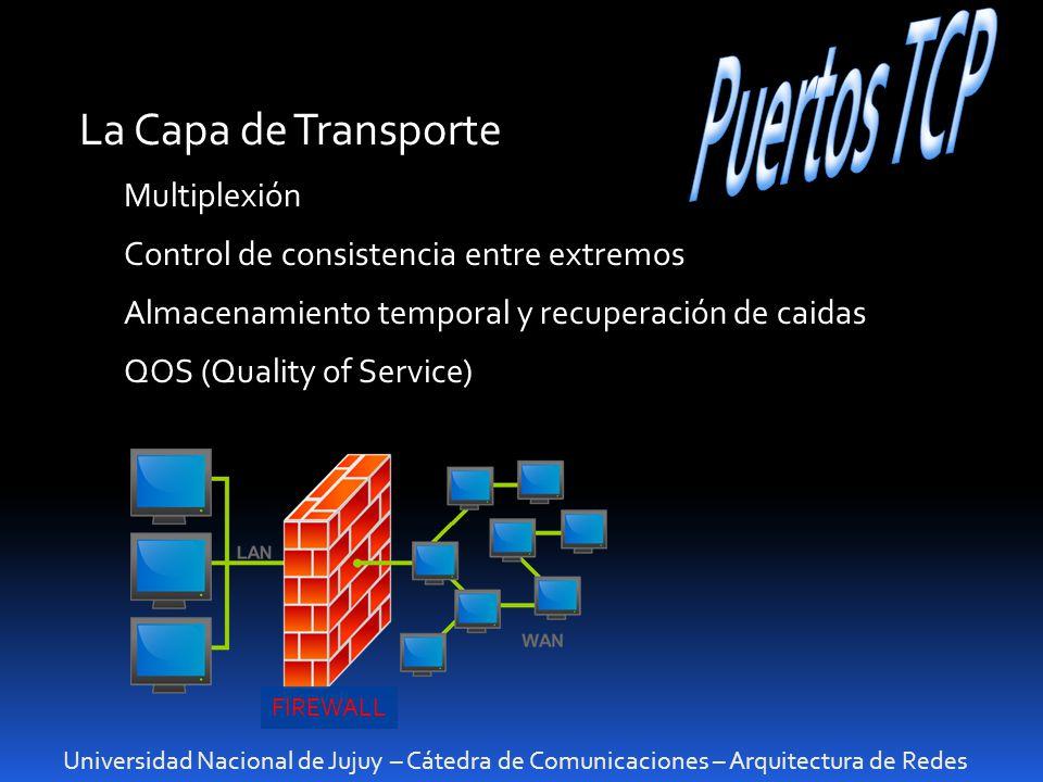Puertos TCP La Capa de Transporte Multiplexión