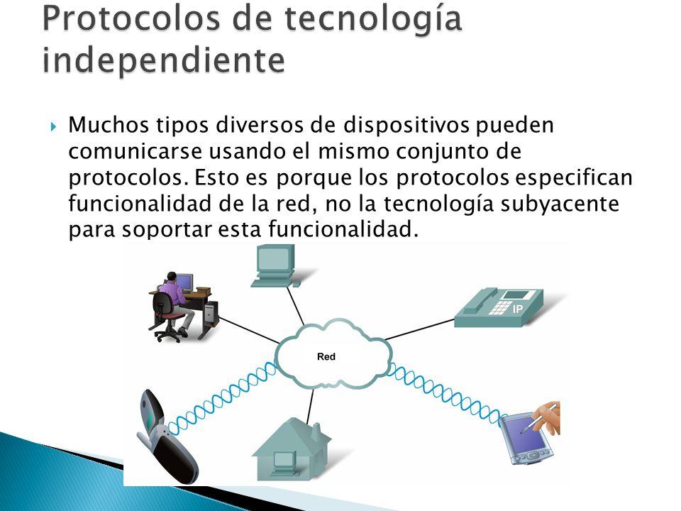 Protocolos de tecnología independiente