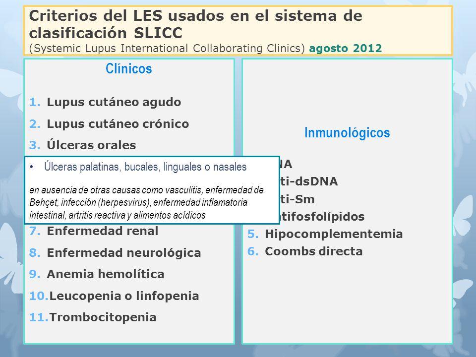 Clínicos Inmunológicos