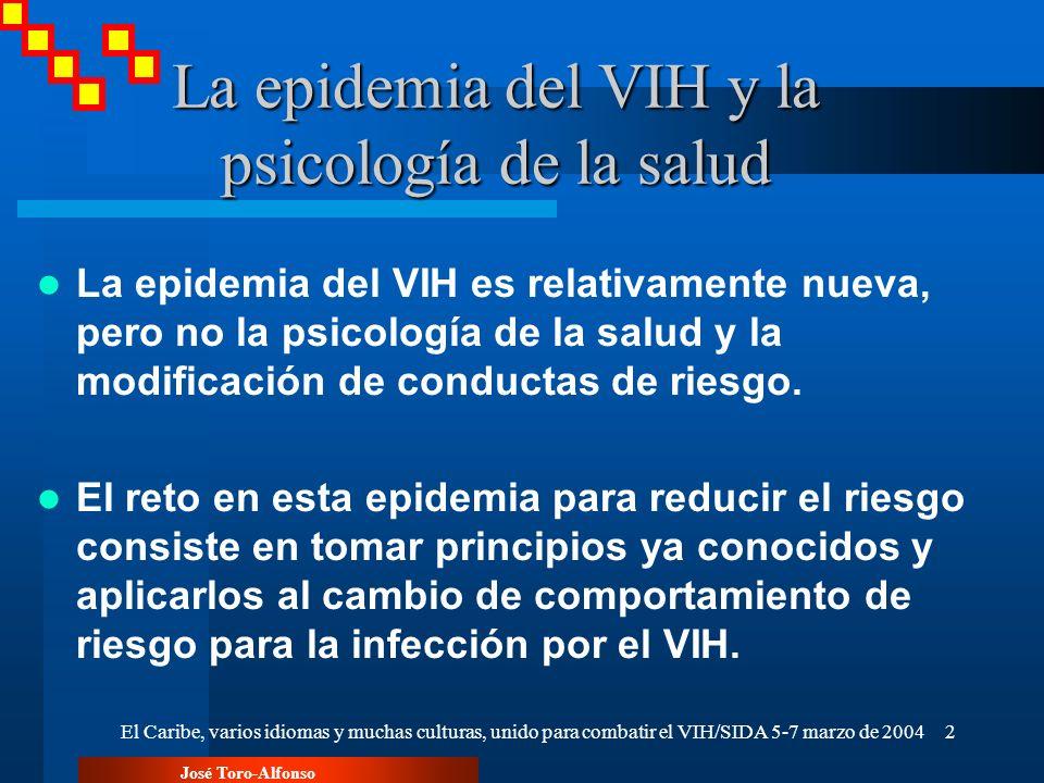 La epidemia del VIH y la psicología de la salud