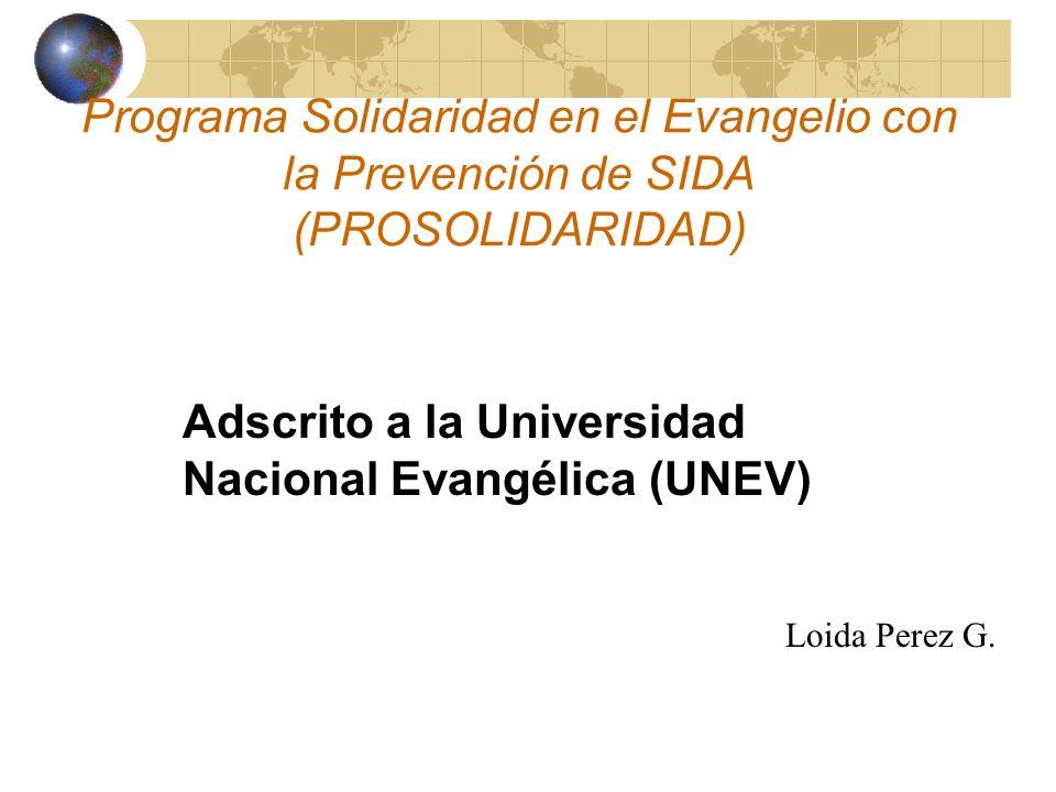 Adscrito a la Universidad Nacional Evangélica (UNEV)