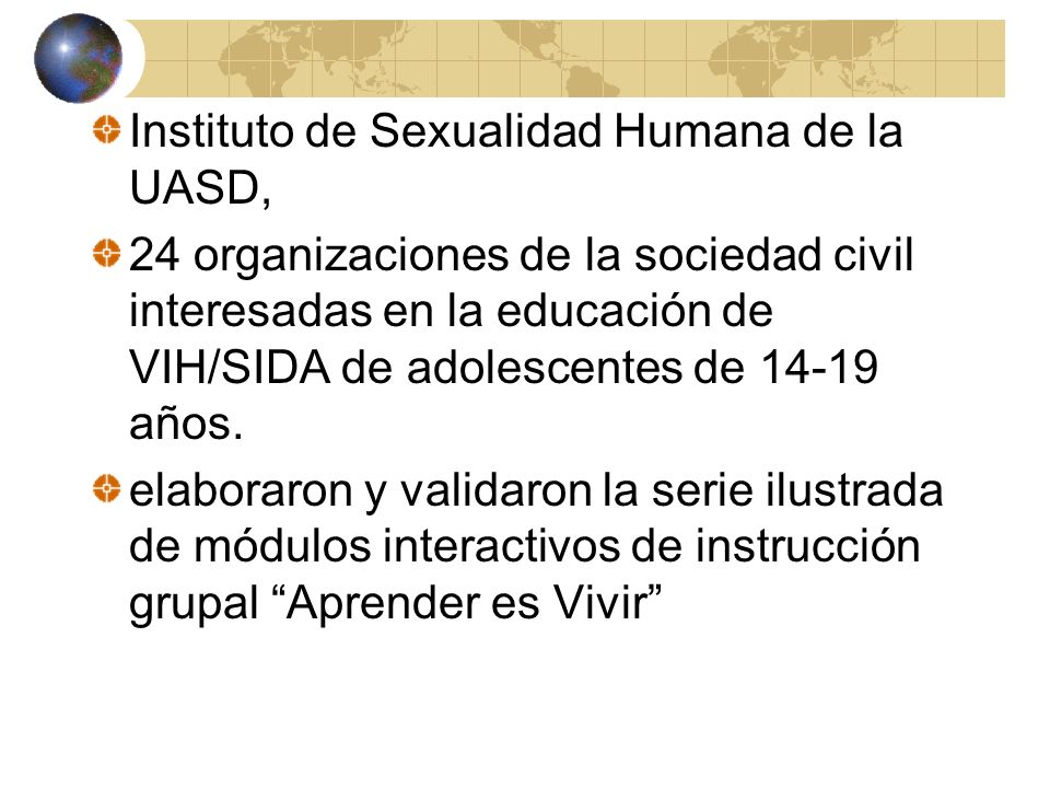 Instituto de Sexualidad Humana de la UASD,
