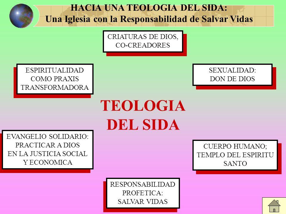 TEOLOGIA DEL SIDA HACIA UNA TEOLOGIA DEL SIDA: