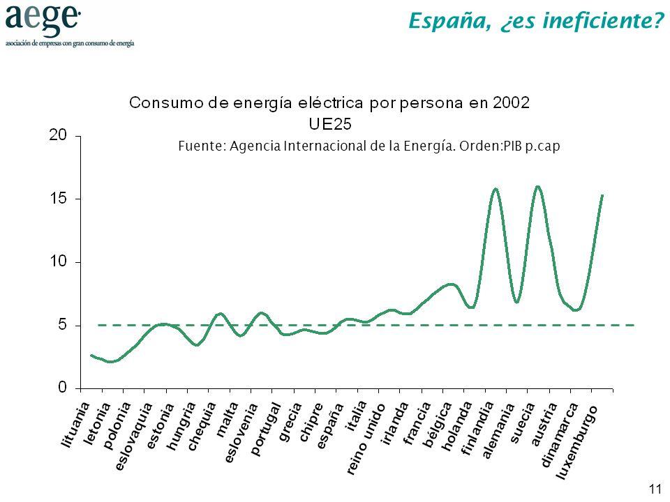 España, ¿es ineficiente