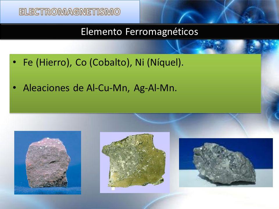 Elemento Ferromagnéticos