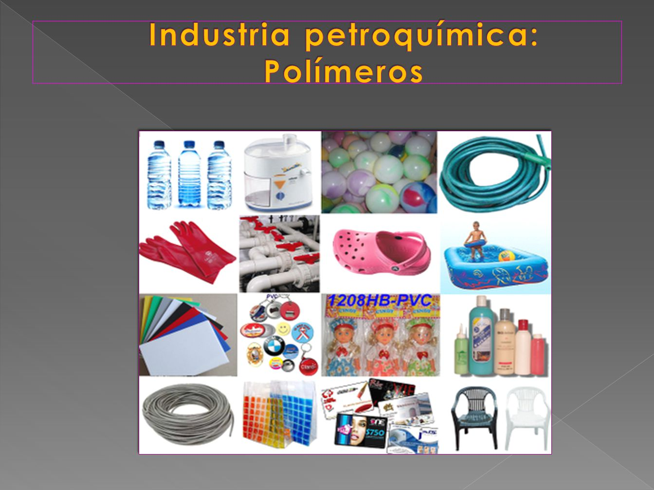 Industria petroquímica: Polímeros