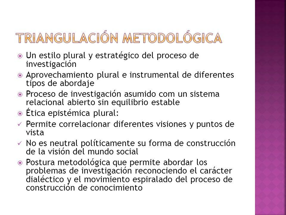 Triangulación metodológica