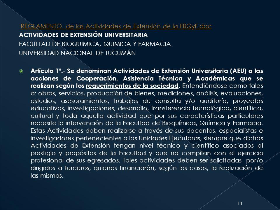 REGLAMENTO de las Actividades de Extensión de la FBQyF.doc