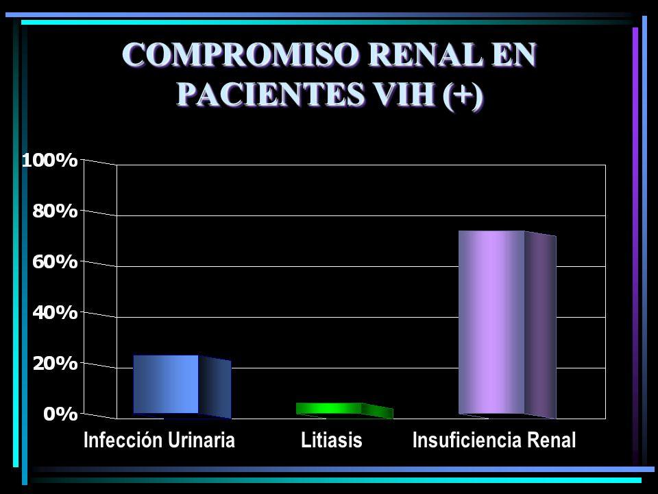 COMPROMISO RENAL EN PACIENTES VIH (+)