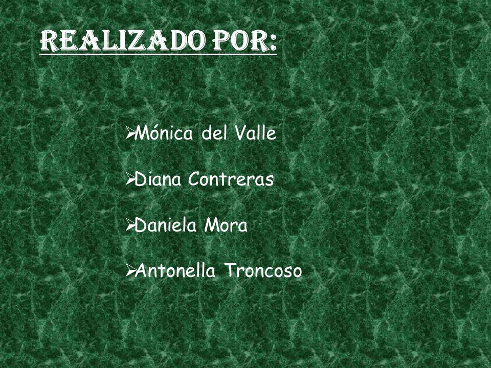 Realizado por: Mónica del Valle Diana Contreras Daniela Mora