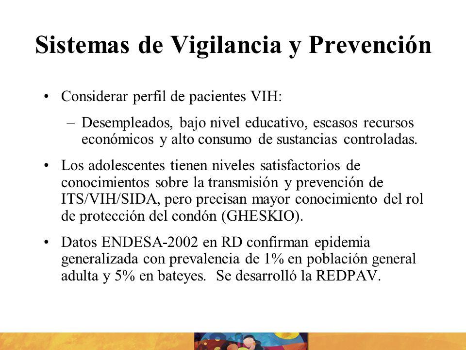 Sistemas de Vigilancia y Prevención