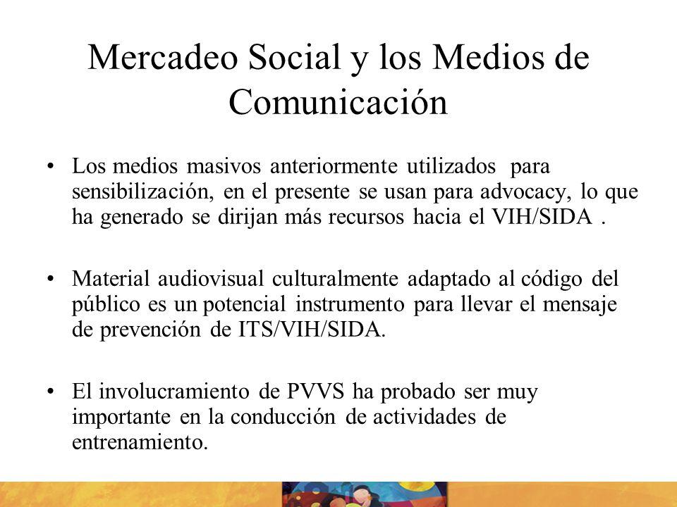 Mercadeo Social y los Medios de Comunicación