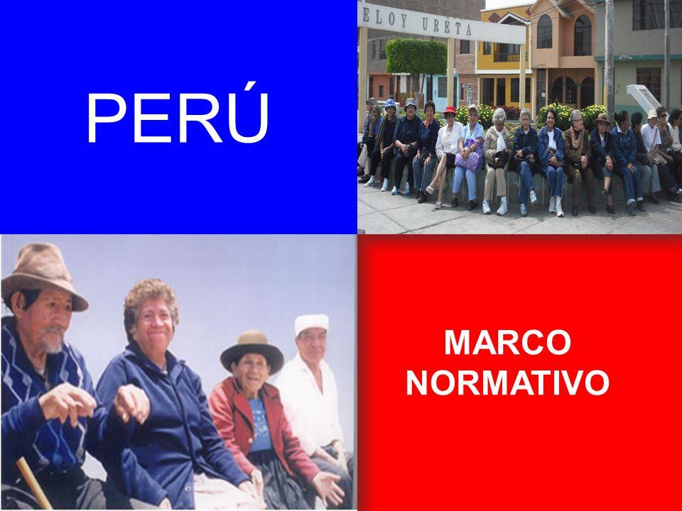 PERÚ MARCO NORMATIVO