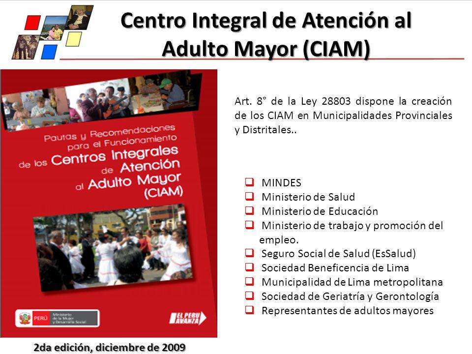 Centro Integral de Atención al Adulto Mayor (CIAM)