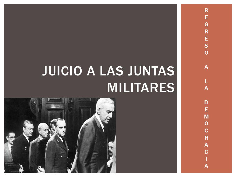 Juicio a las juntas militares