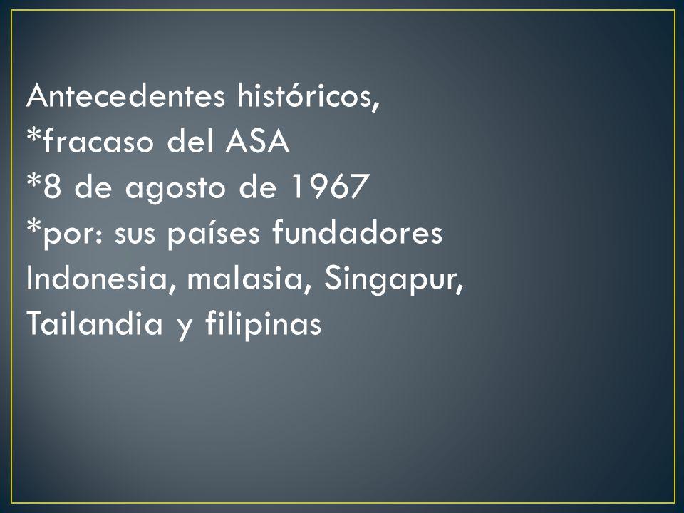 Antecedentes históricos,