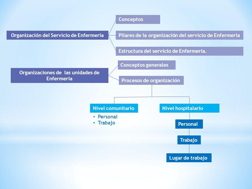 Organización del Servicio de Enfermería