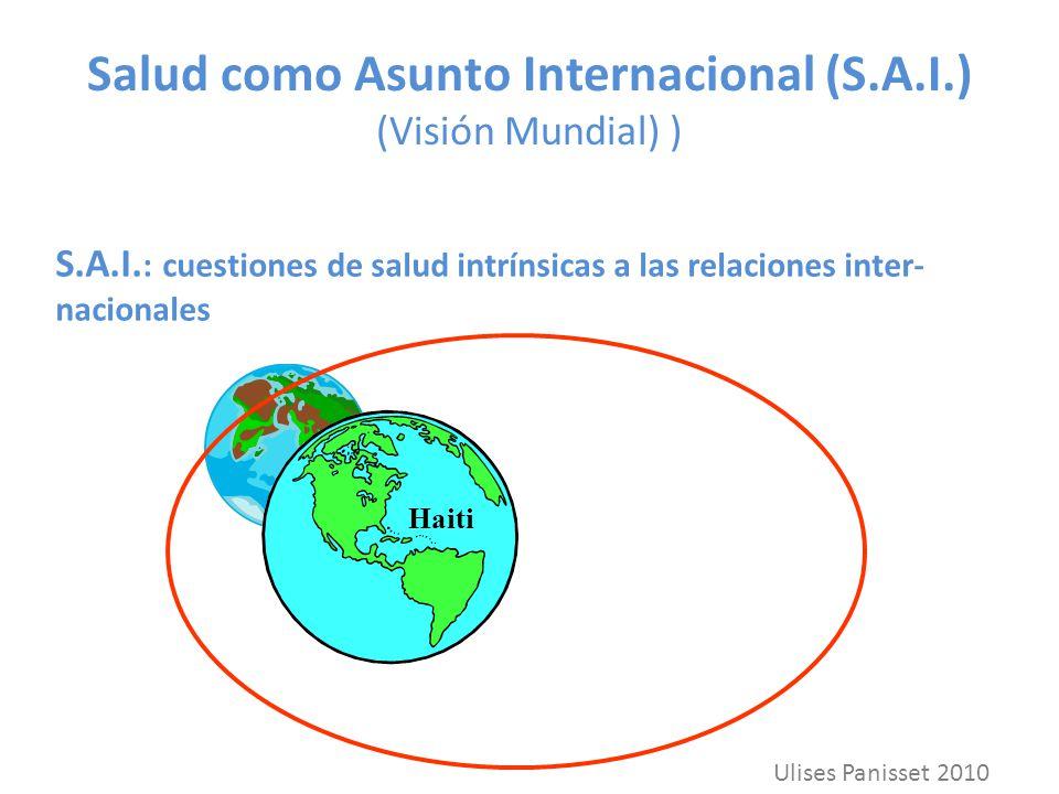 Salud como Asunto Internacional (S.A.I.) (Visión Mundial) )