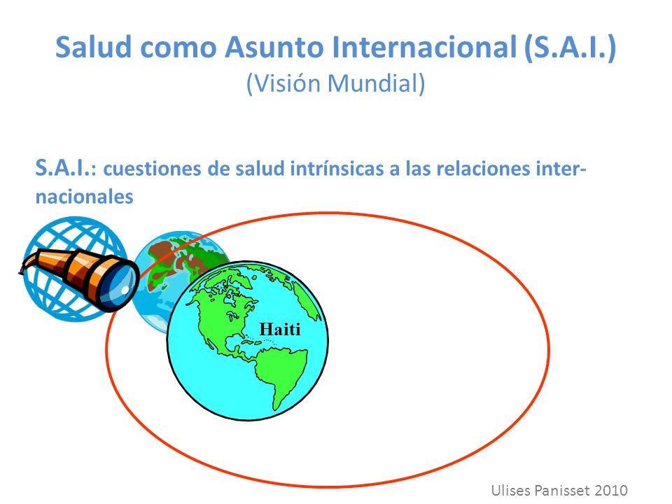 Salud como Asunto Internacional (S.A.I.) (Visión Mundial)