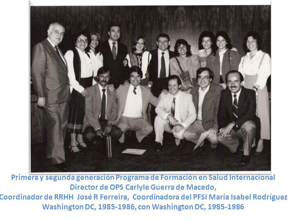 Director de OPS Carlyle Guerra de Macedo,