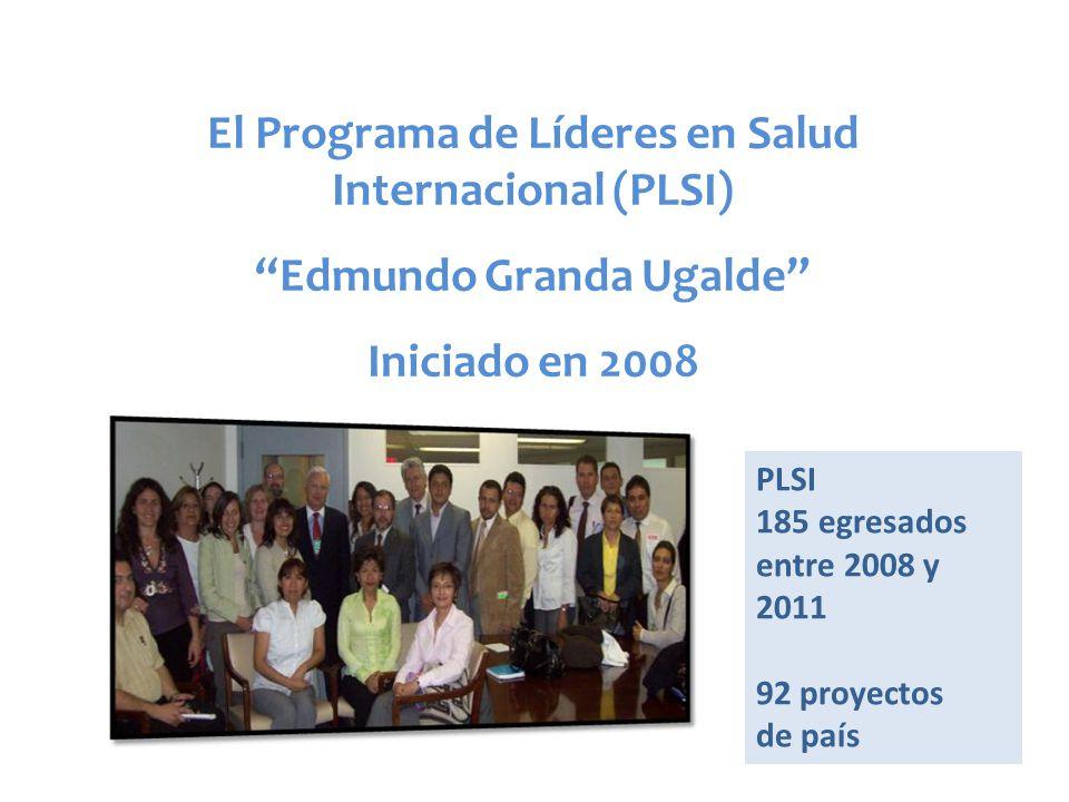 El Programa de Líderes en Salud Internacional (PLSI)
