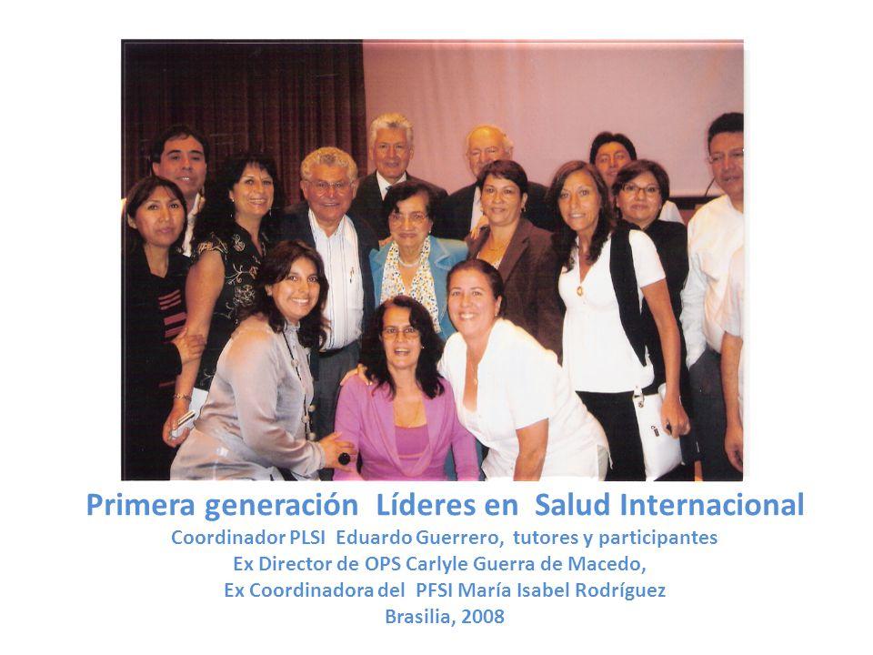 Primera generación Líderes en Salud Internacional