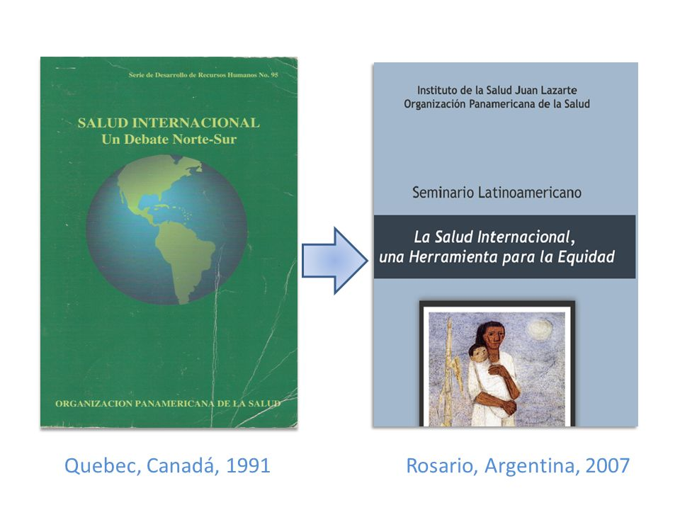 Quebec, Canadá, 1991 Rosario, Argentina, 2007