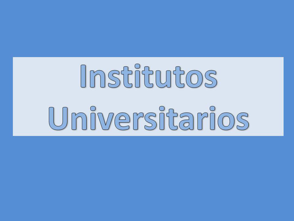 Institutos Universitarios