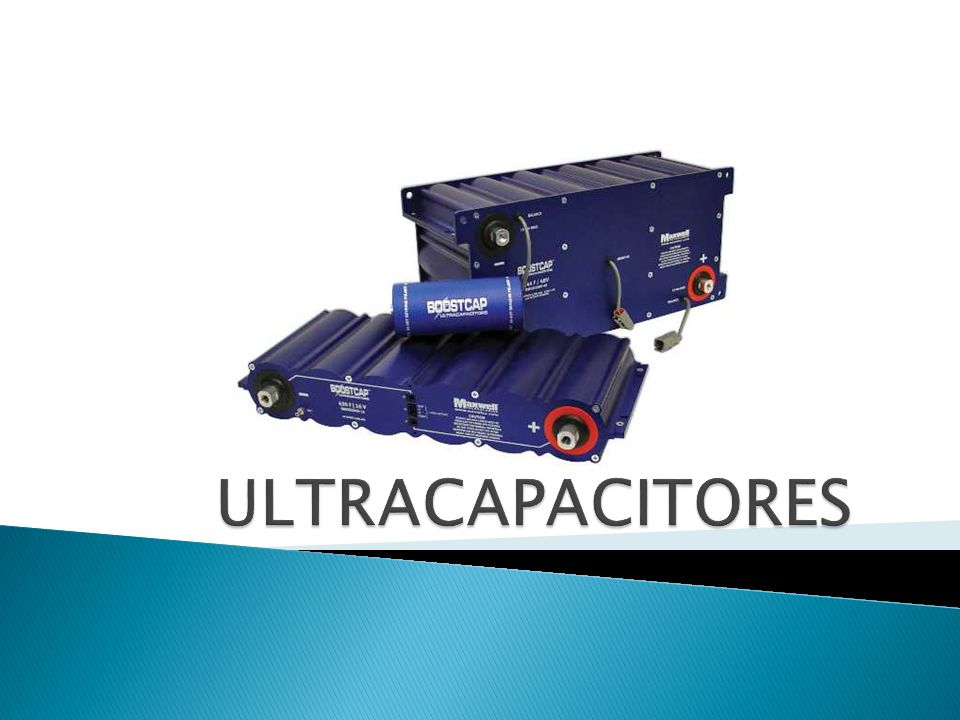 ULTRACAPACITORES