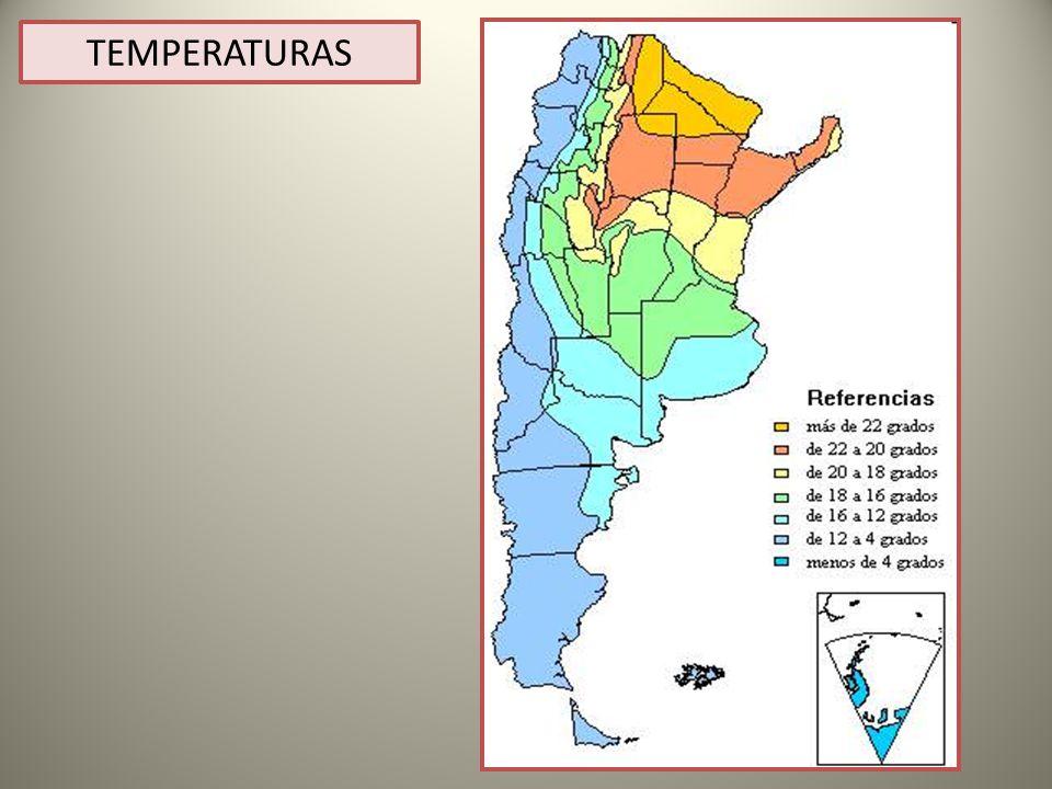 TEMPERATURAS TEMPERATURAS