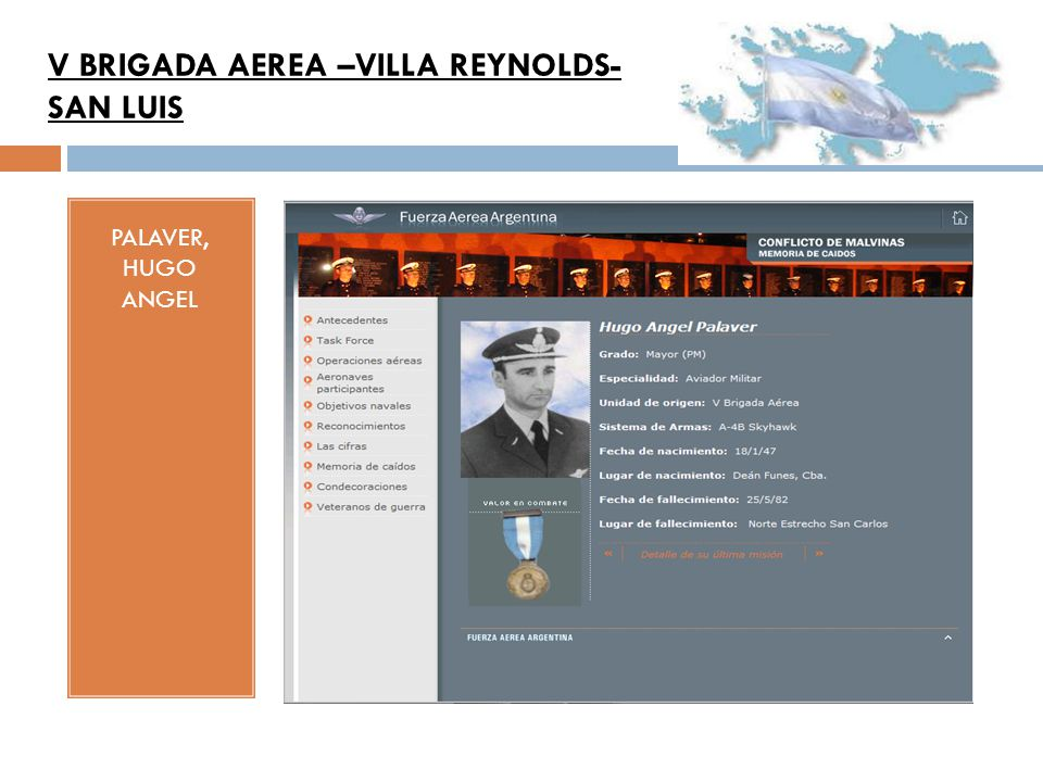 V BRIGADA AEREA –VILLA REYNOLDS-SAN LUIS