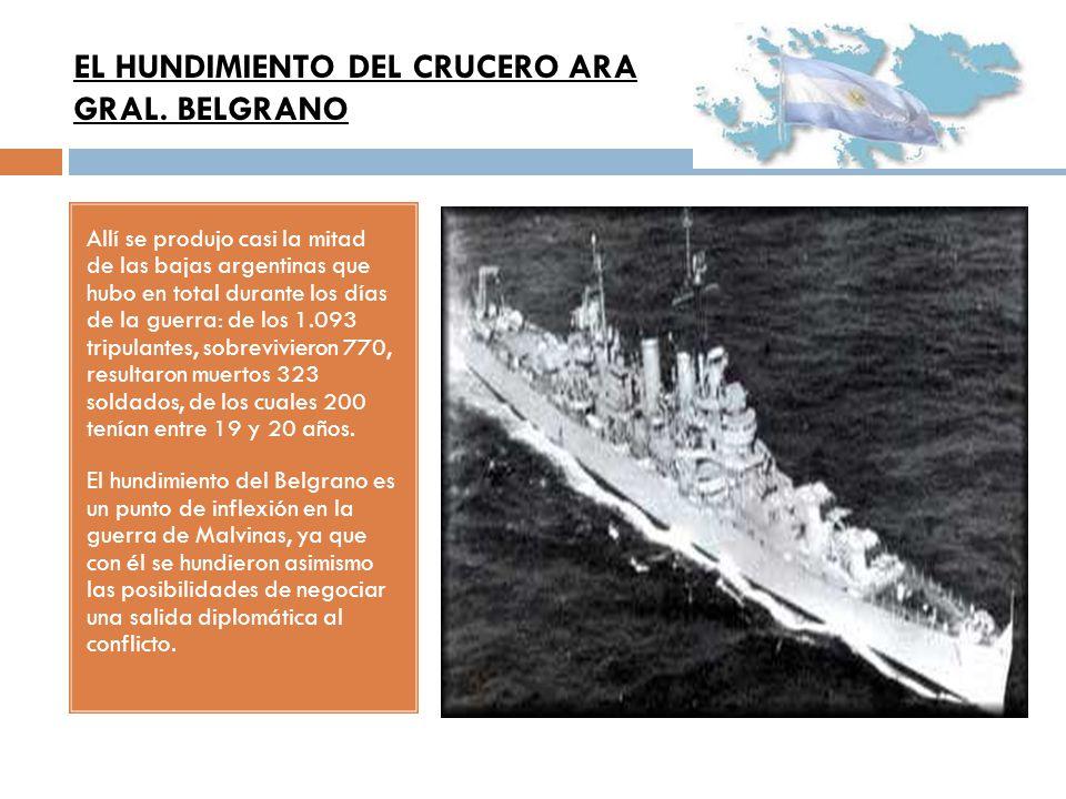 EL HUNDIMIENTO DEL CRUCERO ARA GRAL. BELGRANO
