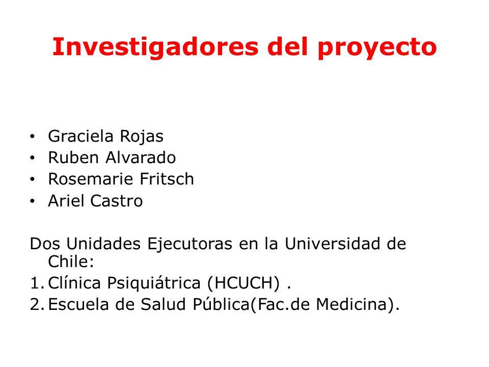 Investigadores del proyecto