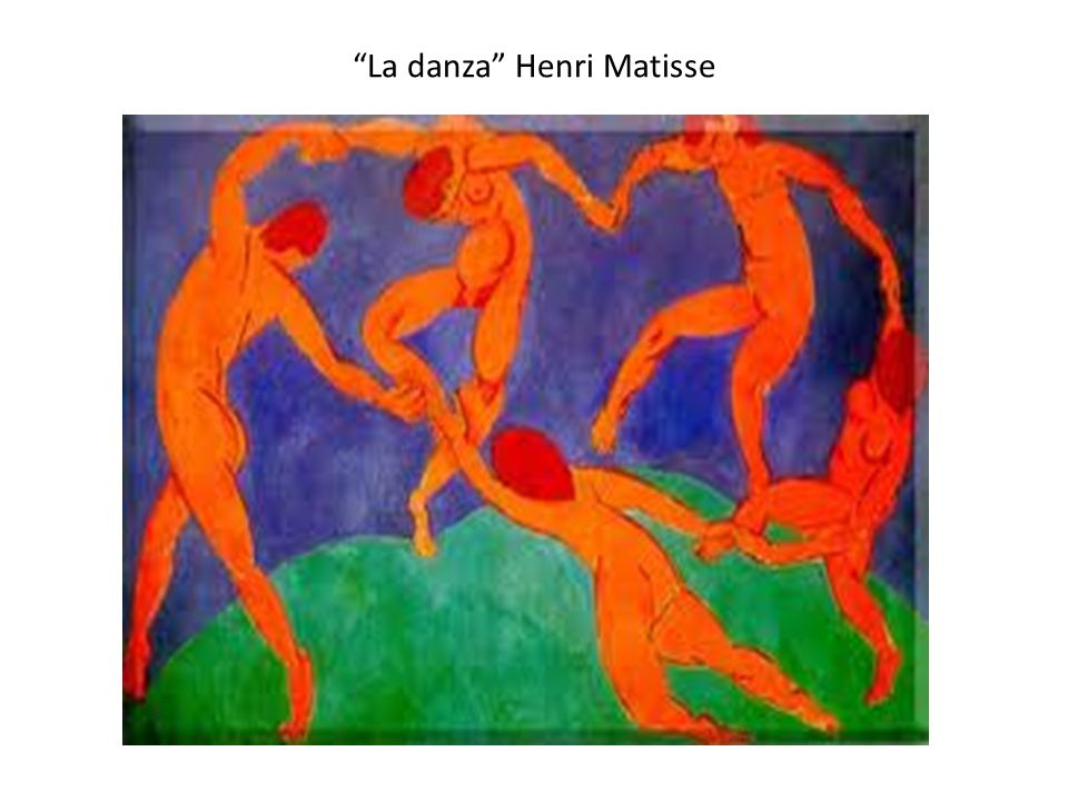 La danza Henri Matisse